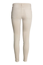 Skinny Low Biker Jeans - Light beige - Ladies | H&M CN 3